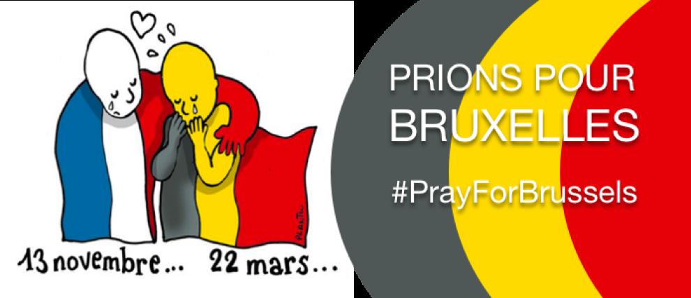 Prions pour Bruxelles