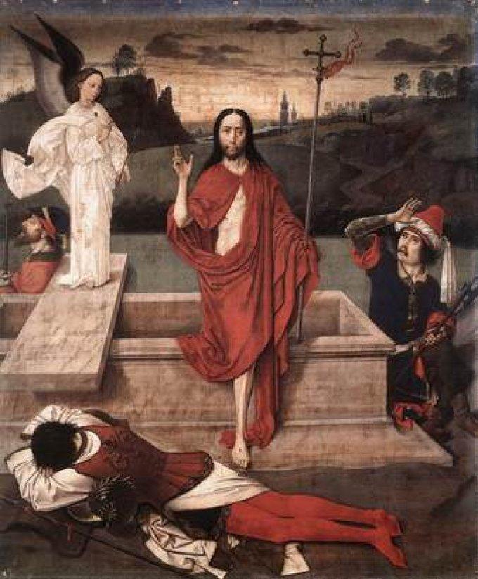 « Le Christ est ressuscité des morts, par sa mort, il a détruit la mort, aux morts, il a donné la vie ! »