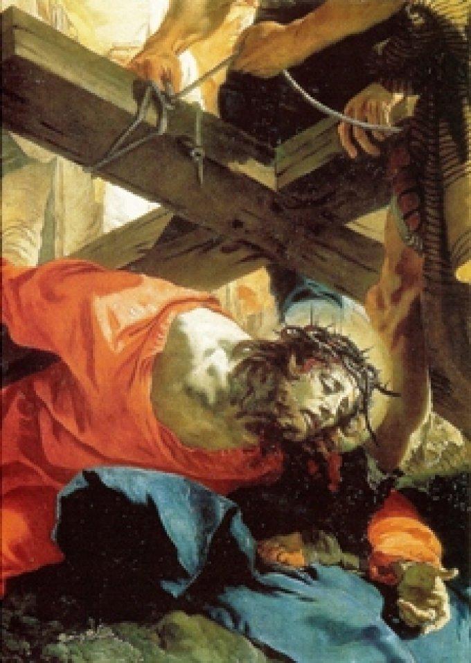 21ème jour: Le portement de croix. Consécration de nos souffrances intérieures