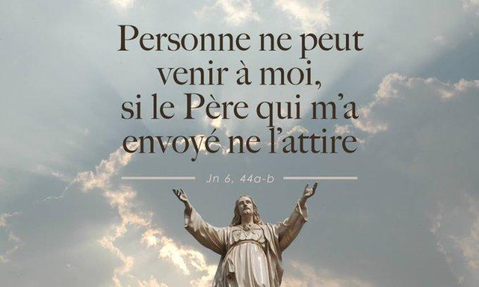 Evangile de Jésus Christ selon saint Jean 6, 44-51