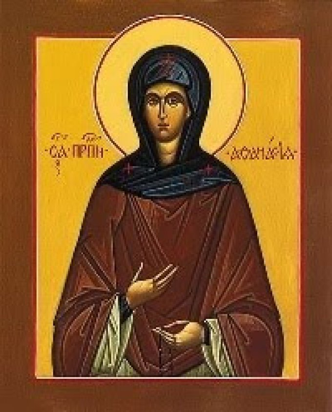 Le 18 avril : Sainte Athanasie