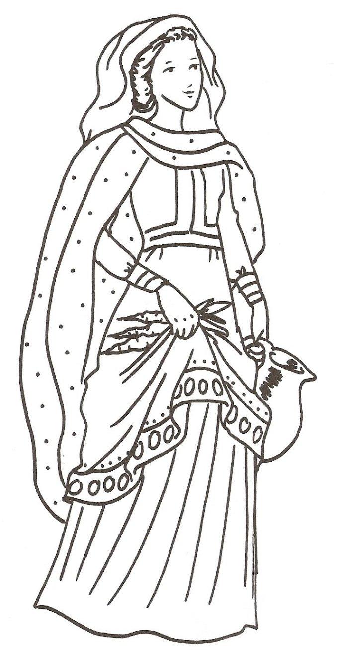 Le 27 avril : Sainte Zita
