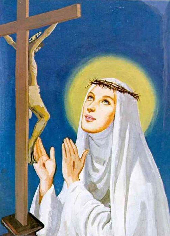 Le 29 avril : Sainte Catherine de Sienne