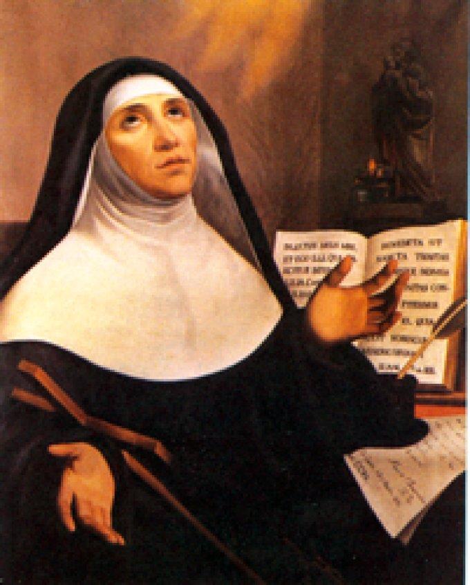 Le 30 avril : Sainte Marie de l'Incarnation