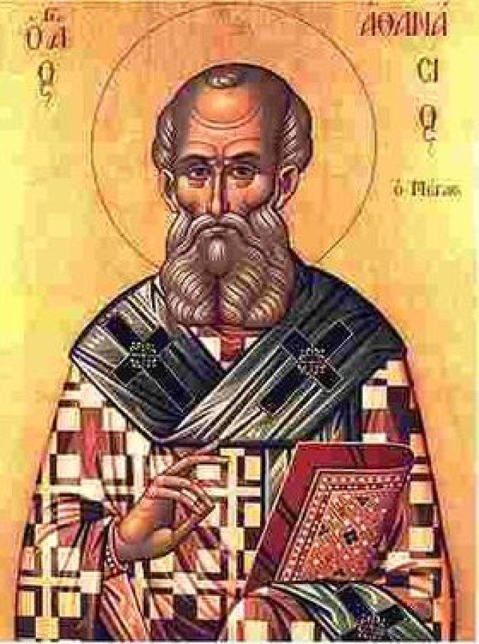 Le 2 mai : Saint Athanase d'Alexandrie