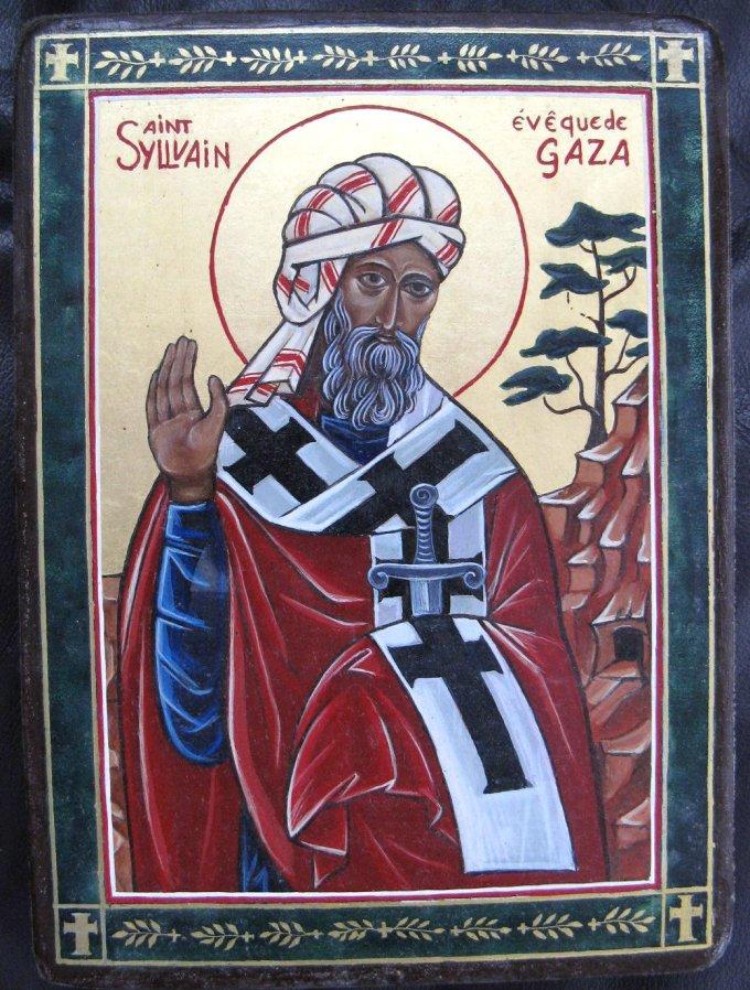 Le 4 mai : Saint Sylvain de Gaza