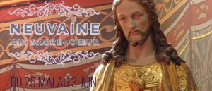 Prions La Neuvaine au Sacré-Cœur de Jésus.