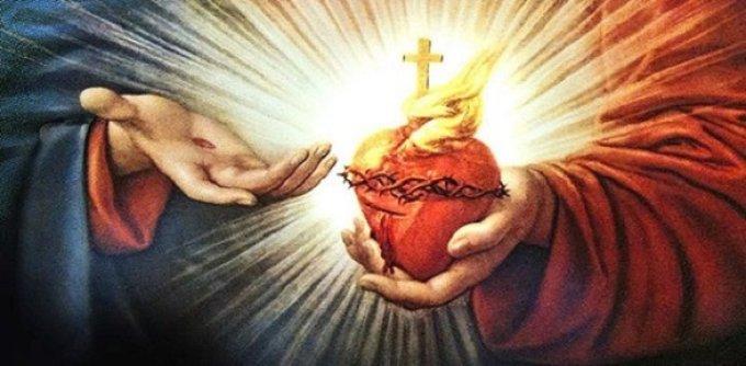 1° Jour de la neuvaine au Sacré-Coeur de Jésus