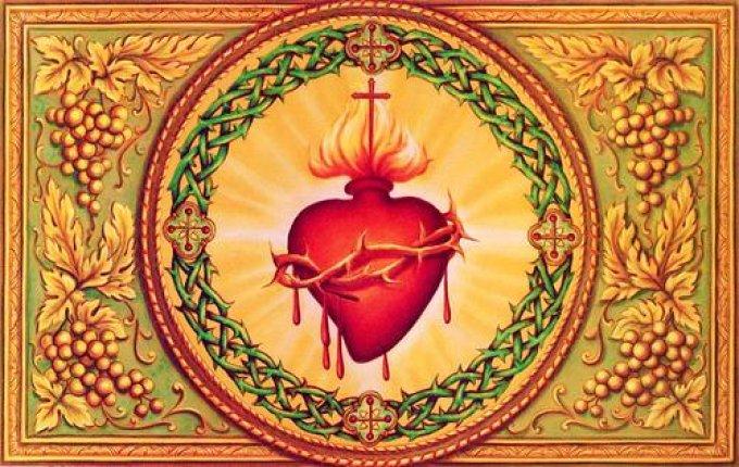 7°Jour de la Neuvaine au Sacré-Coeur de Jésus.