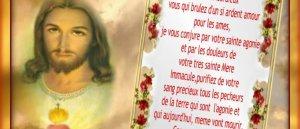 Prions pour les Ames les plus abondonnés du purgatoire
