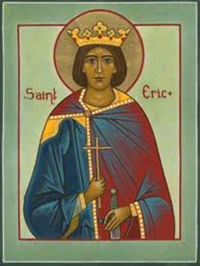 Le 18 mai : Saint Éric de Suède