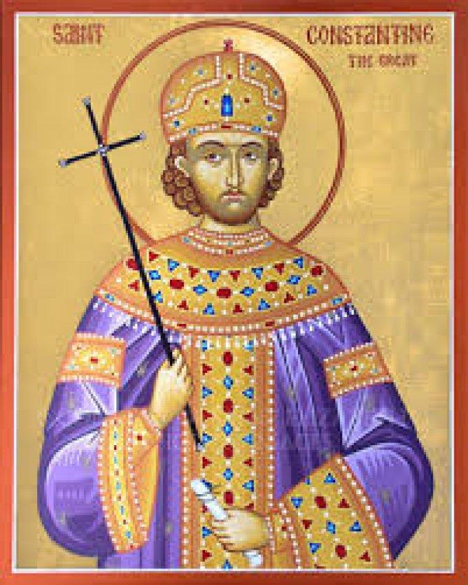 Le 21 mai : Saint Constantin
