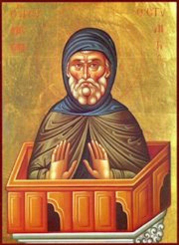 Le 24 mai : Saint Syméon le Stylite