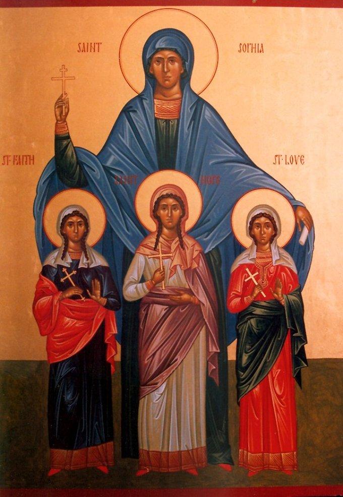 Le 25 mai : Sainte Sophie de Rome