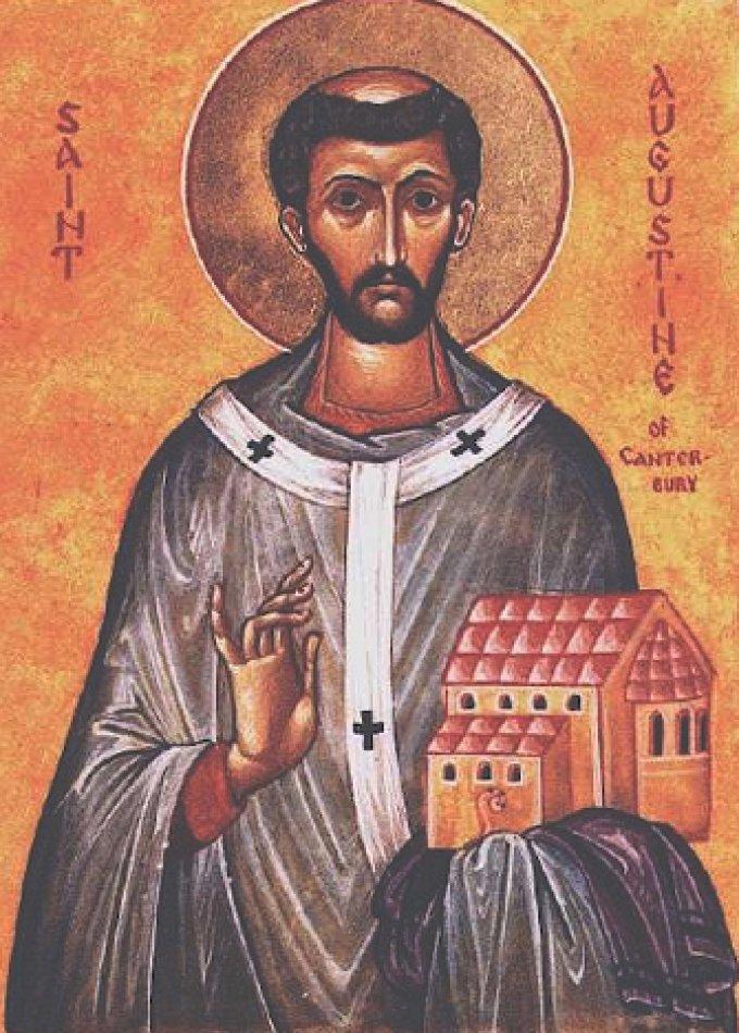 Le 27 mai : Saint Augustin de Cantorbéry