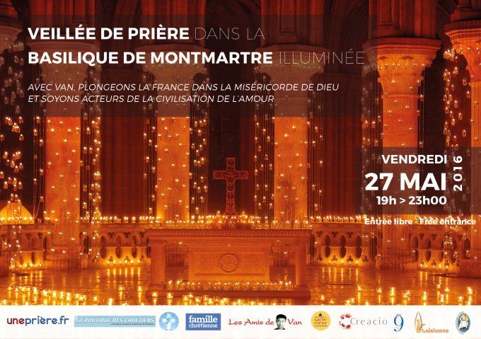 Veillée de prière // Paris Basilique du Sacré-Cœur de Montmartre