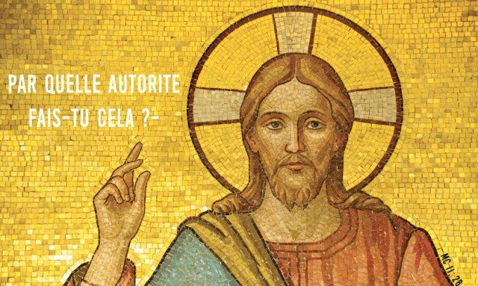Évangile de Jésus Christ selon saint Marc 11,27-33.