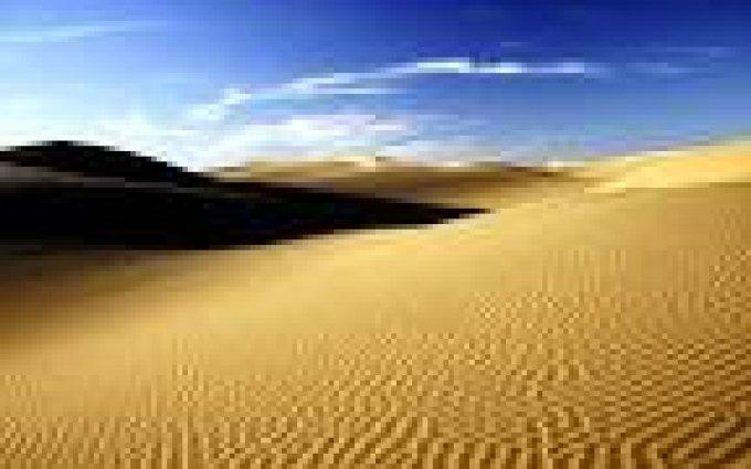 Il n'est pas nécessaire que tu meures dans le désert.