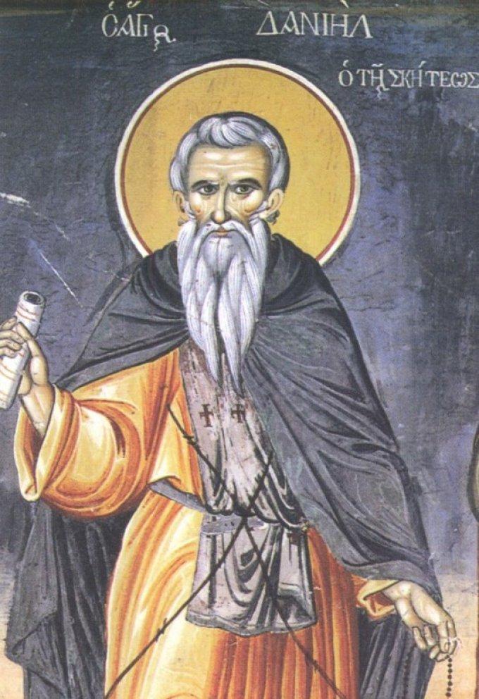 Le 7 juin : Saint Daniel de Scété