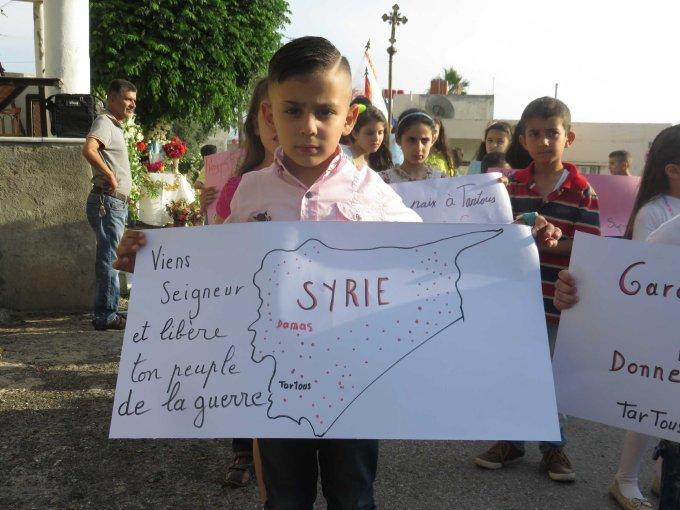 Jour 2 - Prions pour les réfugiés syriens menacés par le terrorisme