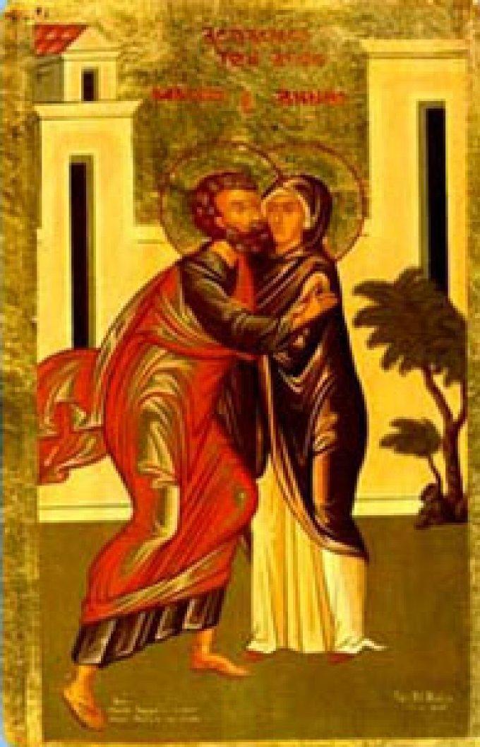 Deuxième jour de la Neuvaine à Sainte Anne et à Saint Joachim