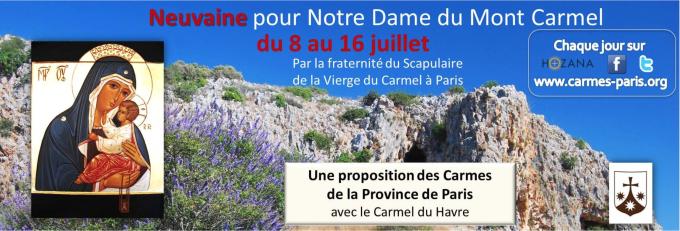 Neuvaine à Notre Dame du Mont-Carmel 2016
