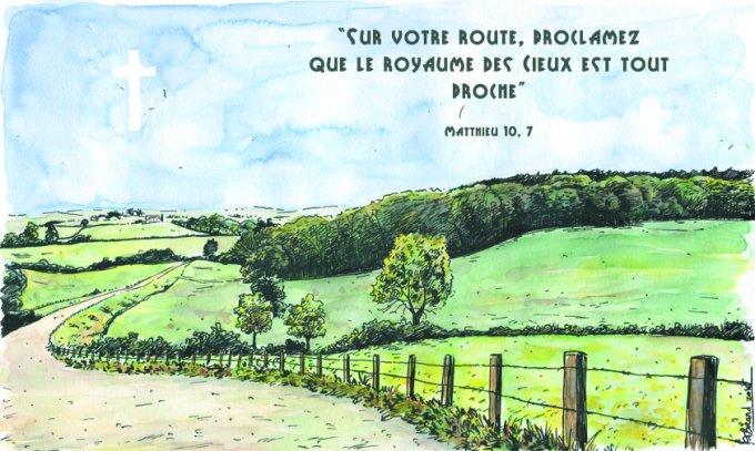 «  Sur votre route, proclamez que le royaume des Cieux est tout proche. »