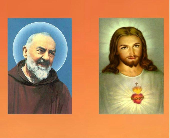 Neuvaine au Cœur Sacré de Jésus par saint Padre Pio