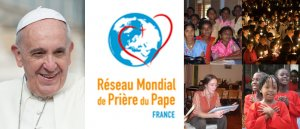Prions  aux intentions mensuelles du Pape, défis de l'humanité