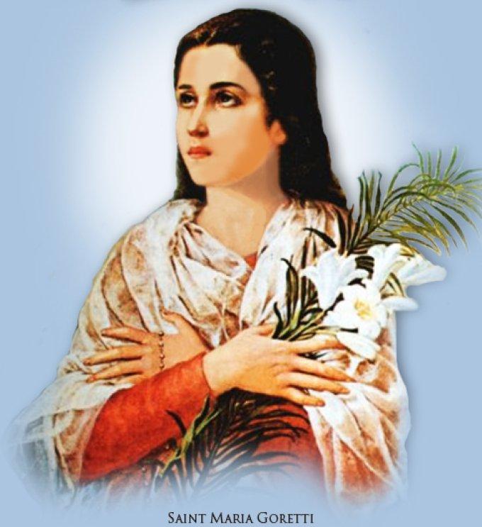 Le 6 juillet : Sainte Maria Goretti