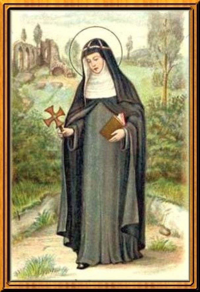 Le 23 juillet : Sainte Brigitte de Suède