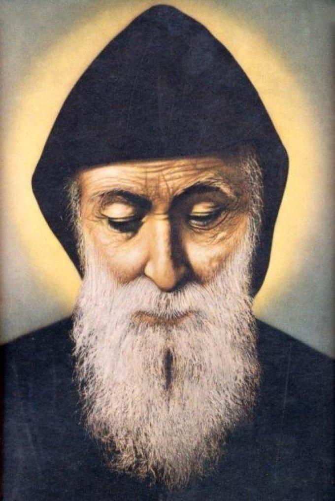 Le 24 juillet : Saint Charbel Makhlouf