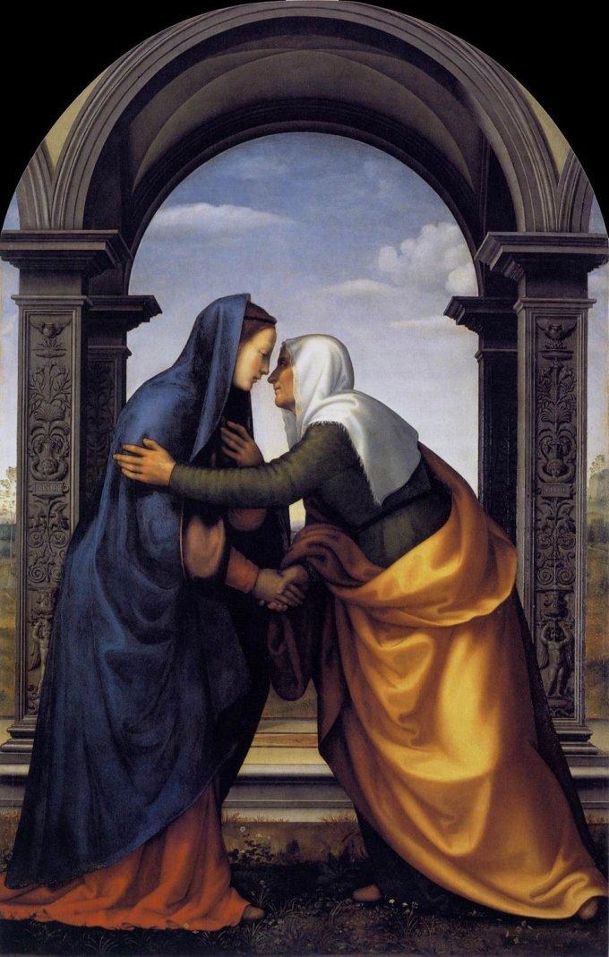 2ème mystère joyeux : La Visitation de Marie