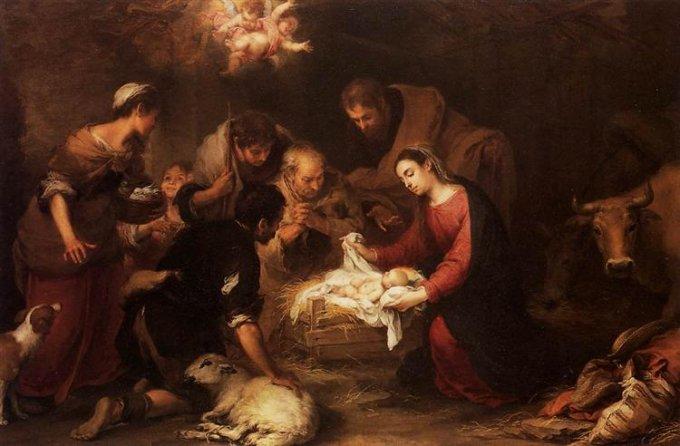 3ème mystère joyeux : La nativité