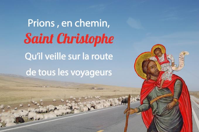 Saint Christophe, Patron des voyageurs