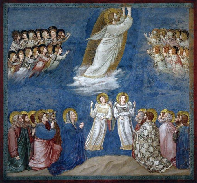 Les mystères glorieux : L'Ascension