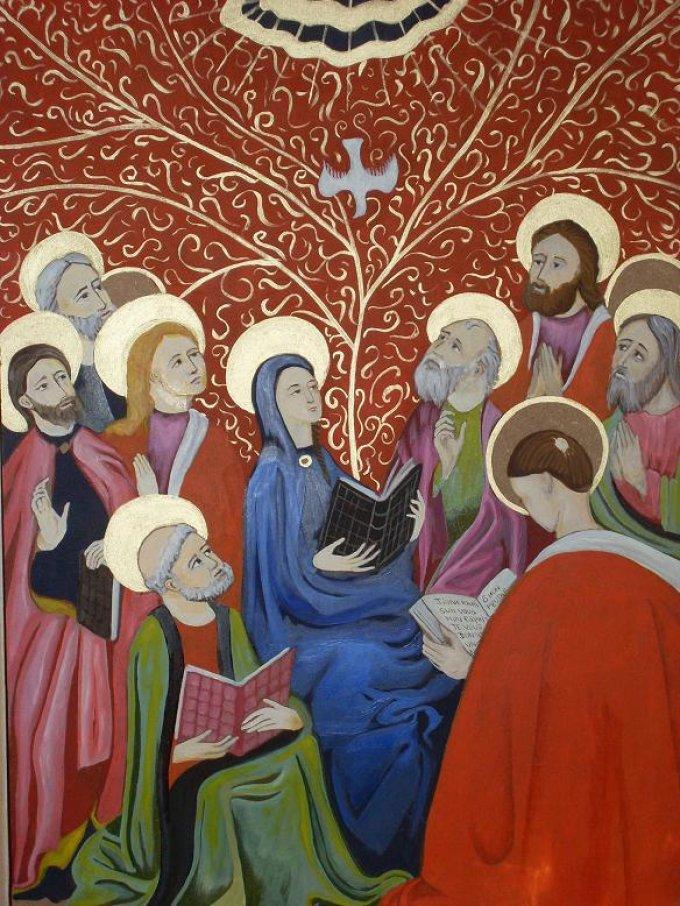 3ème mystère glorieux : La Pentecôte
