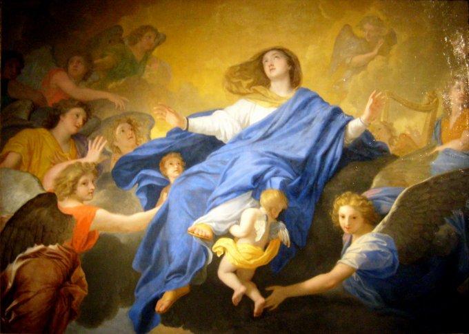 Los Misterios Gloriosos: La Asunción de María al cielo - Texto de San Bernardo