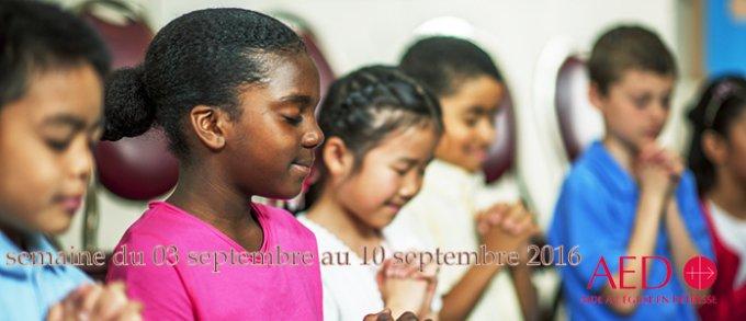 Prions pour l'Eglise en Détresse avec l'A E D
