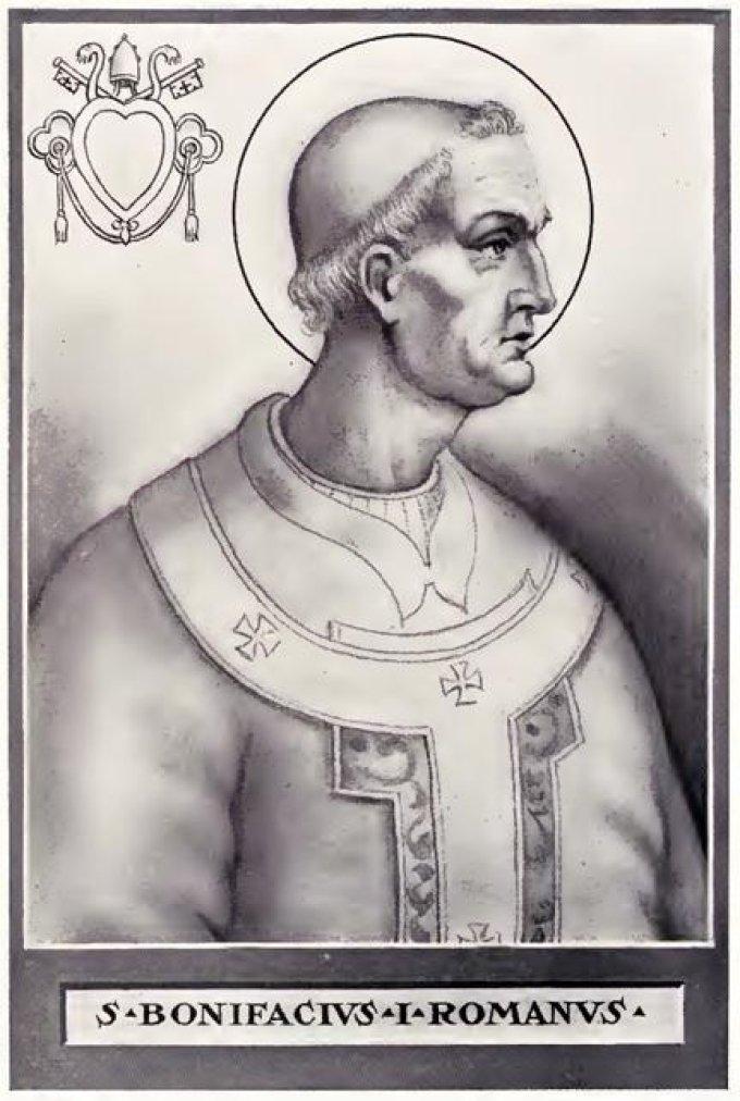 Le 4 septembre : Saint Boniface Ier