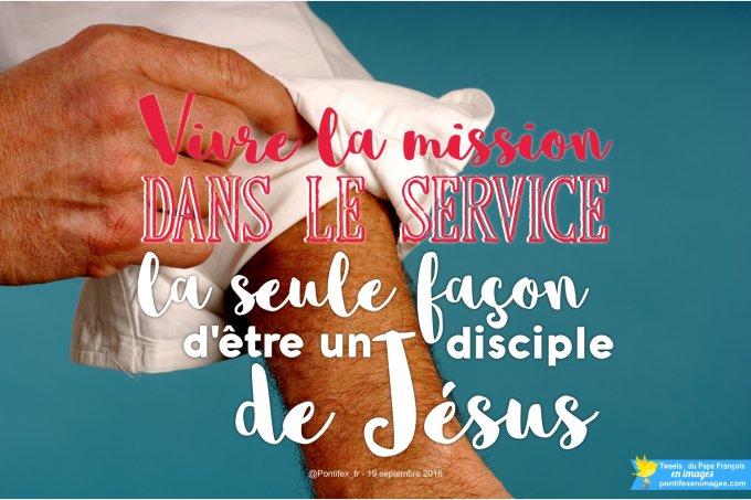 Vivre la mission dans le service