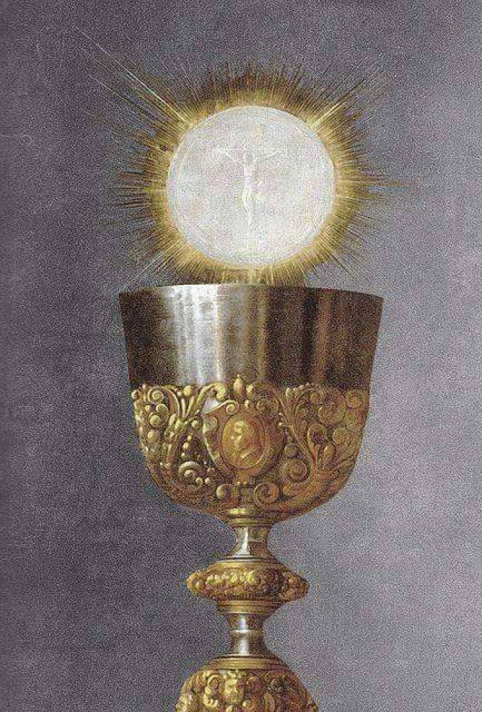 Qui pense à dire merci pour la Sainte Eucharistie ?