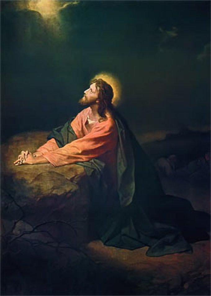 Los Misterios Dolorosos: La Agonía de Jesús en el Jardín de los Olivos