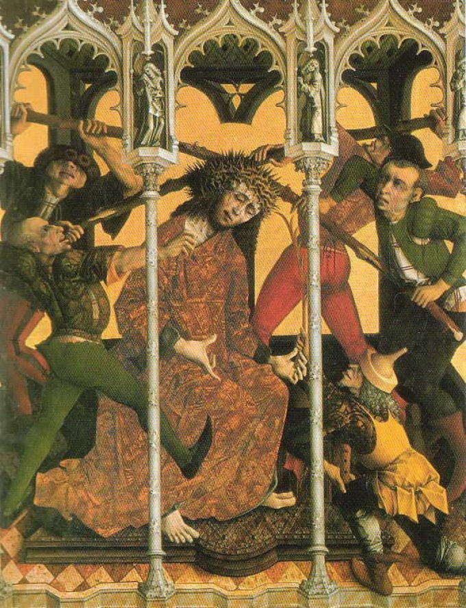 3ème mystère douloureux : Le couronnement d'épines