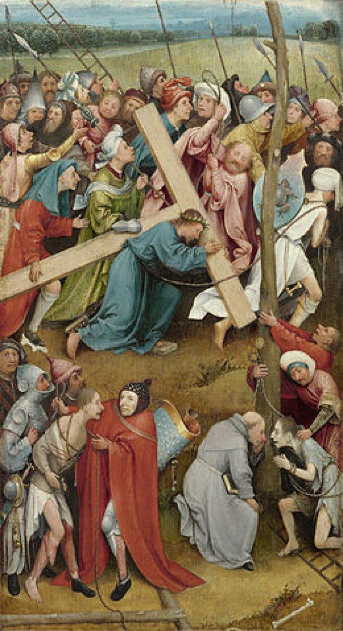 4ème mystère douloureux : Le portement de la croix