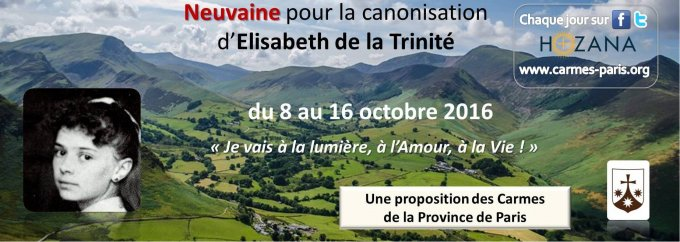 Neuvaine de préparation à la canonisation d'Elisabeth de la Trinité