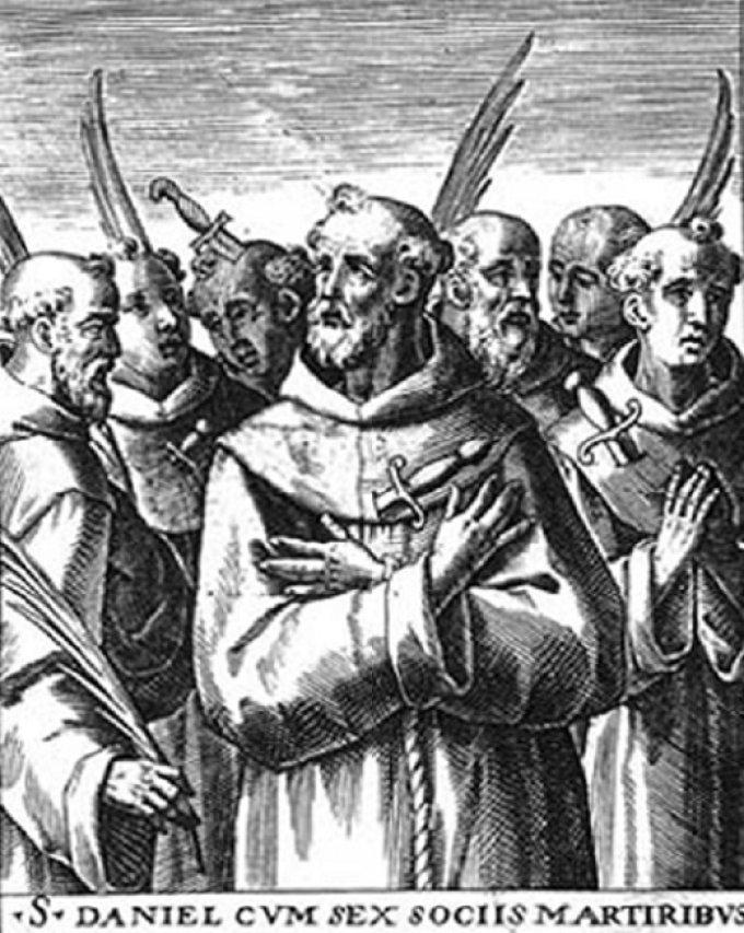 Le 10 septembre : Saint Daniel et ses compagnons