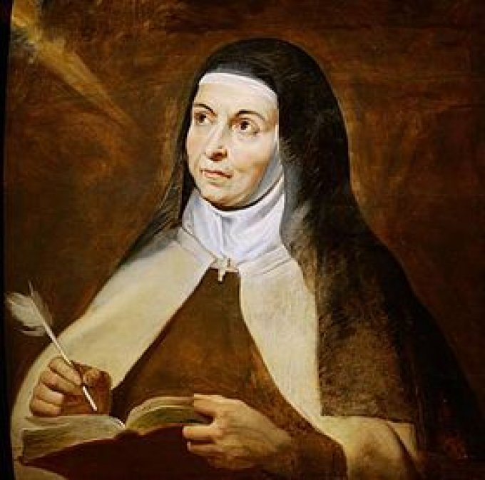 Le 15 octobre : Sainte Thérèse d'Avila