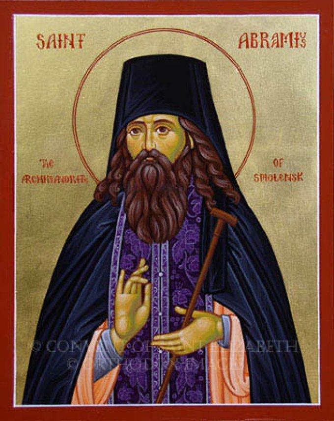 Le 29 octobre : Saint Abramios