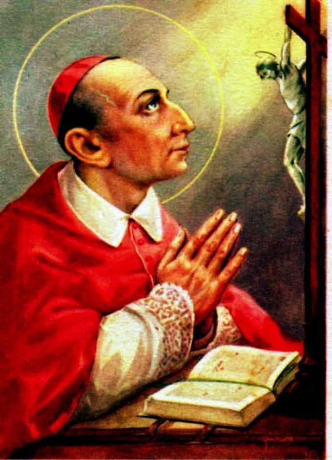 Le 4 novembre : Saint Charles Borromée